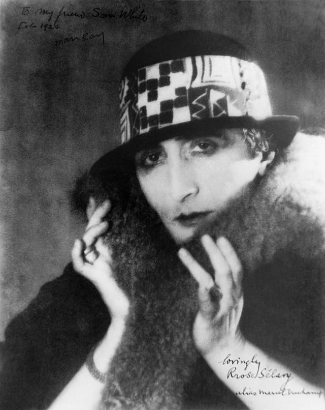 Rose Selavy aka Marcel Duchamp