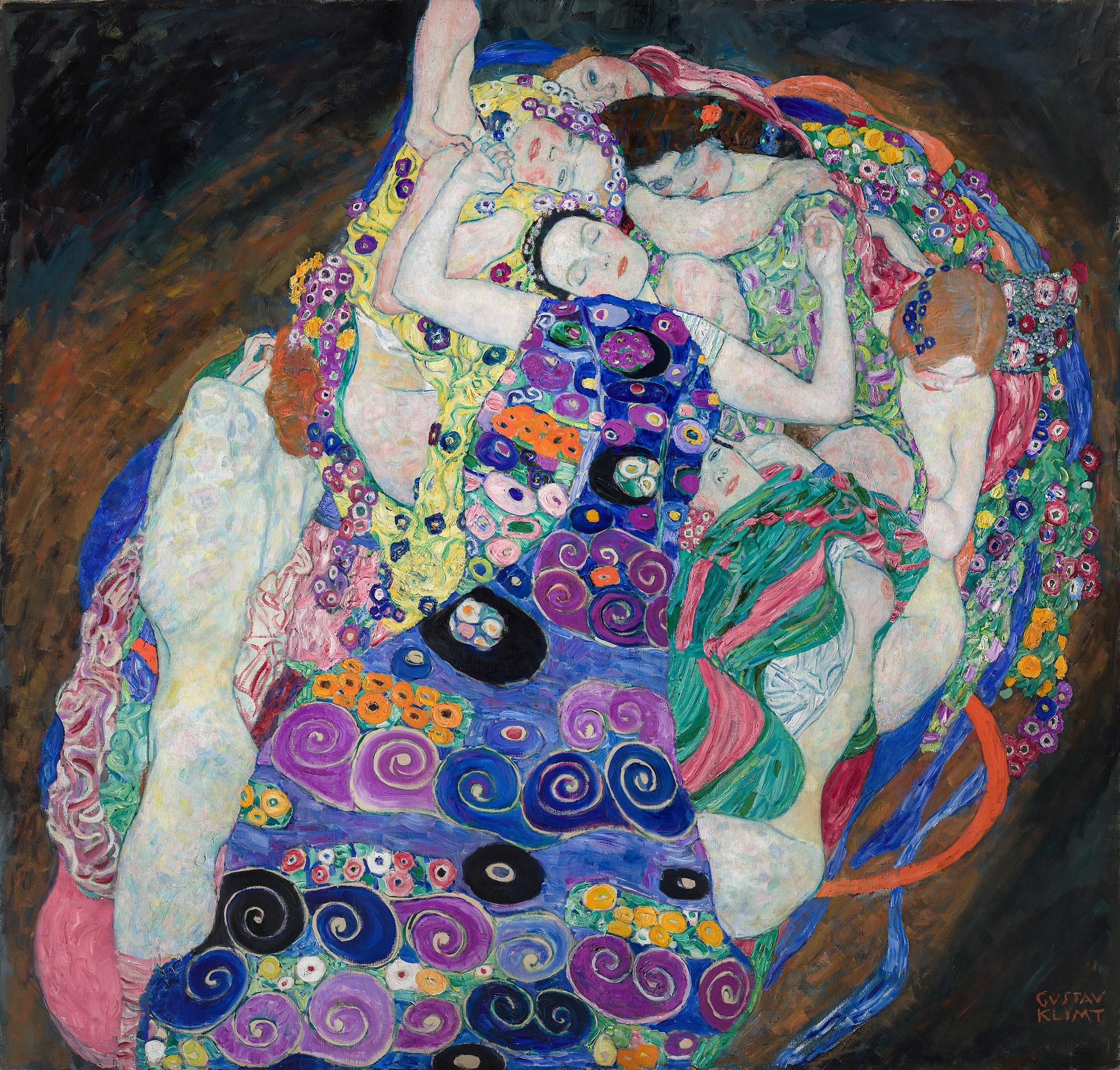 Klimt, The Virgin 1913