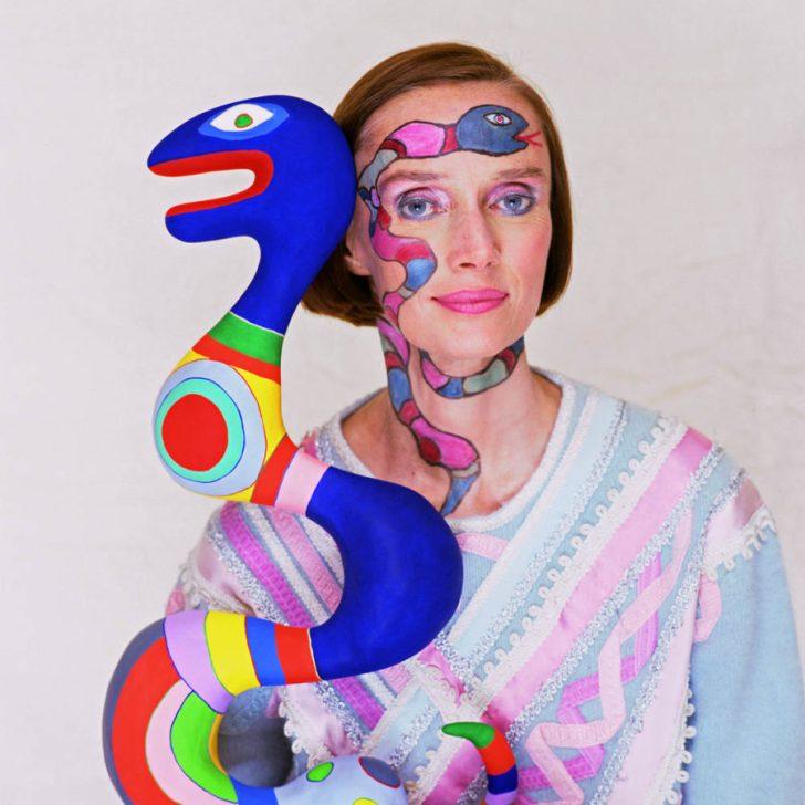 Niki de Saint Phalle Foto Norman Parkinson/Corbis