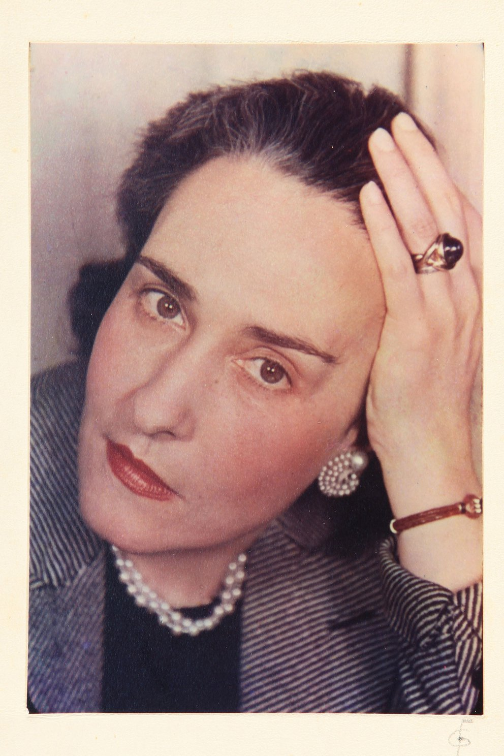 Victoria Ocampo foto de Gisèle Freund, 1939