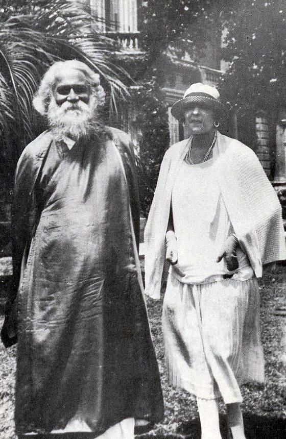 Victoria Ocampo y Rabindranath Tagore 1924