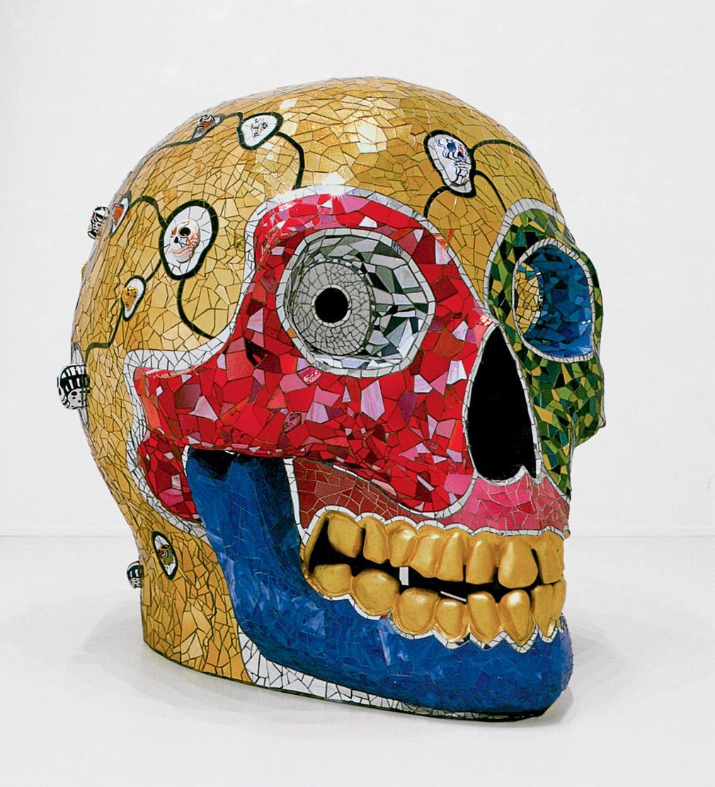 Niki de Saint Phalle. Skull