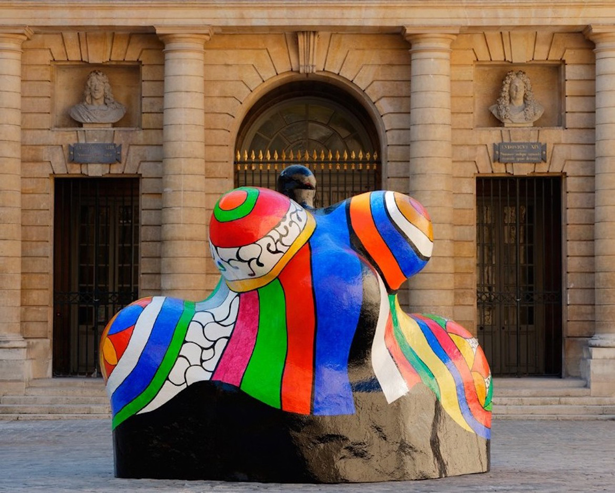 Niki de Saint Phalle. Nana Maison.