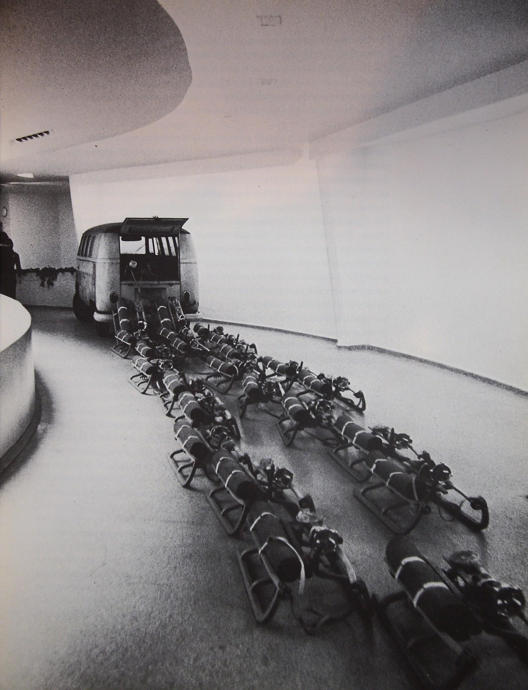Joseph Beuys. The pack. Guggenheim, 1979