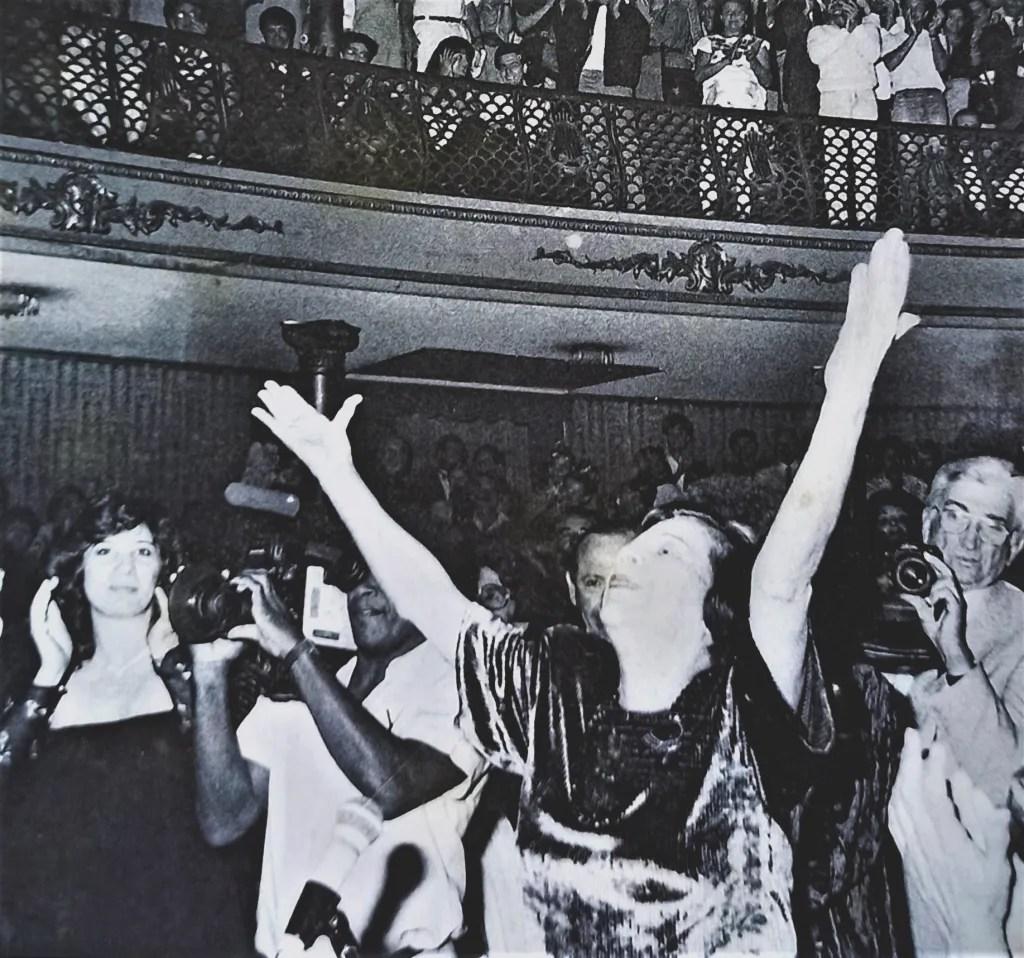 Cumpleaños 80 en el Teatro Municipal.
