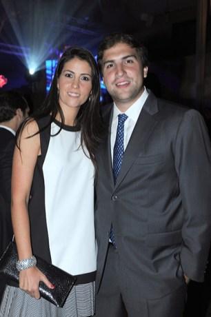 Antonio Guruceaga y Andrea Herrera
