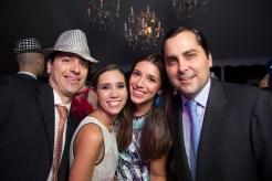 Rafael Belloso, Isabel O'Daly, Alejandra Belloso y Rodrigo Caleya