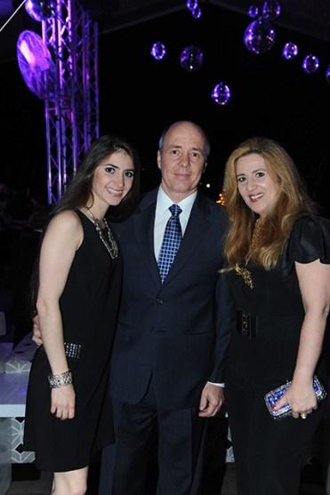 Luisa Mercedes Tamayo, Porfirio Tamayo y Berta Elena de Tamayo