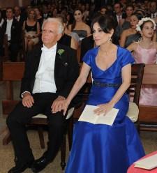 Jacques Alexandre Tarf y Mercedes Josefina de Alexandre