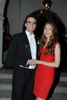 Juan Pablo Egui y Alejandra Miller