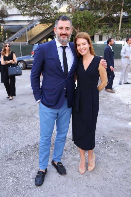 Amir Korangy y Vanessa Grout