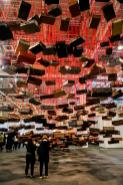Chiharu Shiota, Galerie Daniel Templon