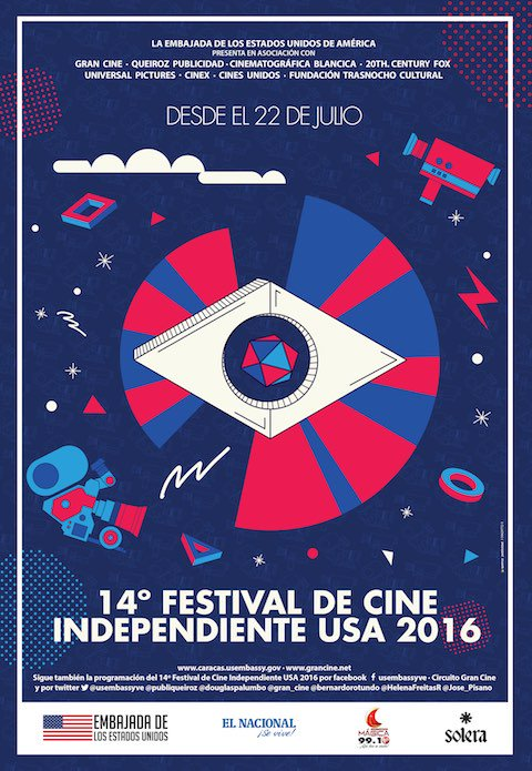 Festival de cine independiente usa 2016