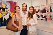 Victoria Di Fino, Andrés Makowski y Ruth Sánchez-Bueno