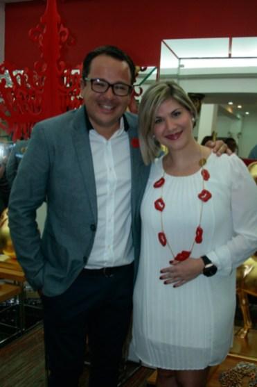 Carlos Vallenilla y Vero Rahn