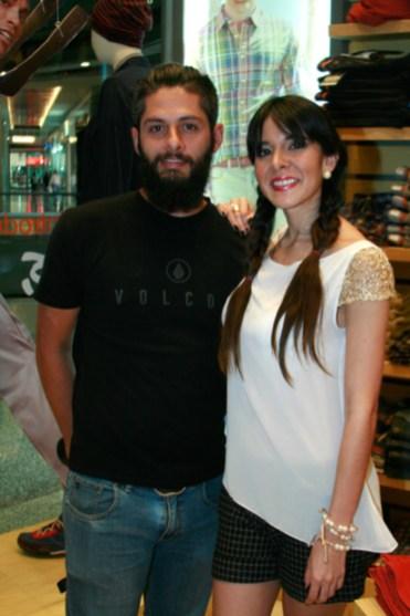 Enrique Salazar y Victoria Arabia