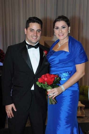 Alexander De Azevedo y Erika Arellana