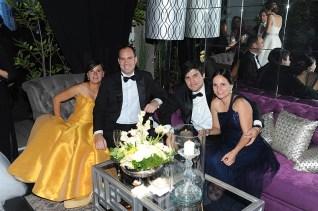 Yuyita de García, Luis Manuel García, German Ruiz y Josefina de Ruiz
