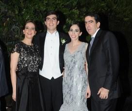 María Antonia de Egui, Gonzalo Cuenca, Cristina Egui y José Manuel Egui