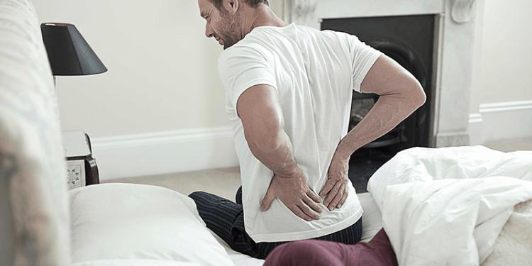 hombre con dolor de espalda