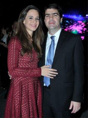 Anastasia de Romero y Diego Romero