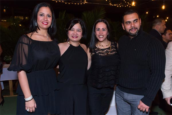 Claudia Rodríguez, Gladys Chow, Georgina-Ritz y Hèctor Peña