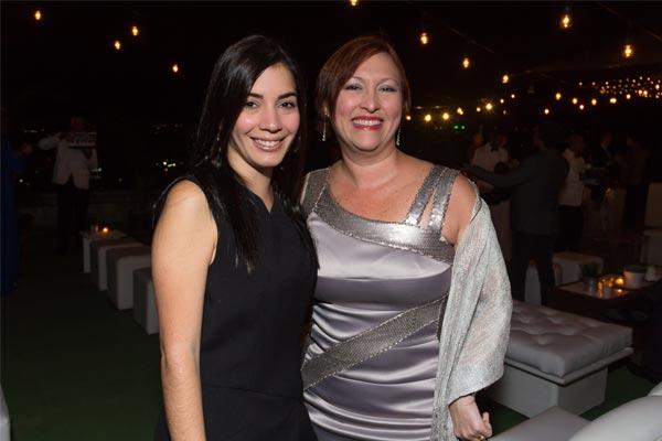 Lourdes Chirinos y Luz Paniagua