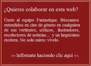 Anuncio buscando colaboradores para la web