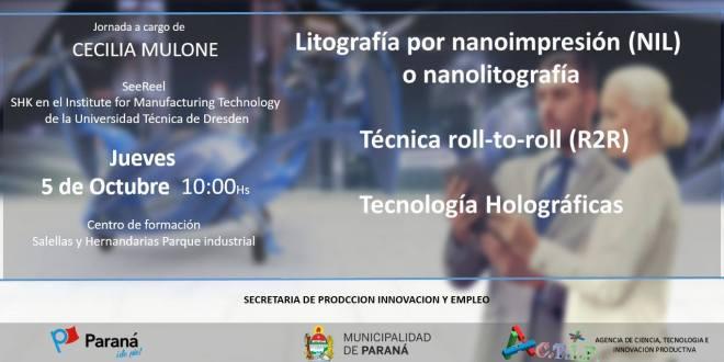 Litografía por nanoimpresión NIL