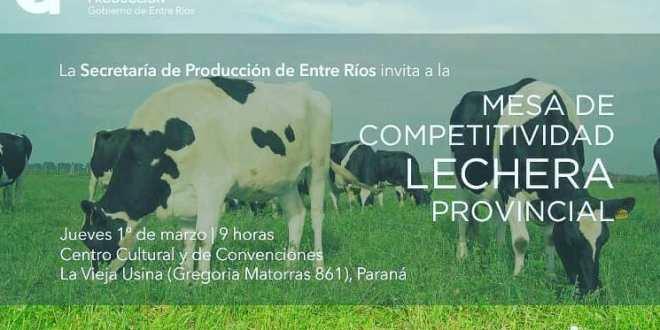 Mesa de Competitividad Lechera Provincial