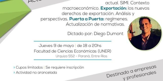 Charla: «Importación y Exportación: actualidad, normativa y perspectivas»