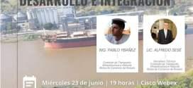 La Bolsa de Cereales de Entre Rios, los invita a participar del encuentro Hidrovia Paraná Paraguay – Desarrollo e Integración.