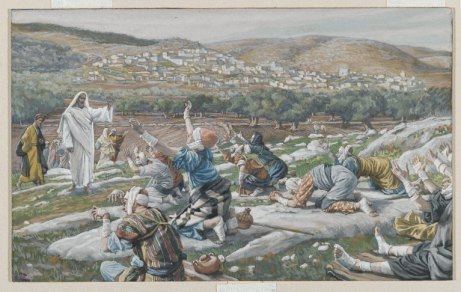 Guérison de dix lépreux, de James Tissot (1886-1894)