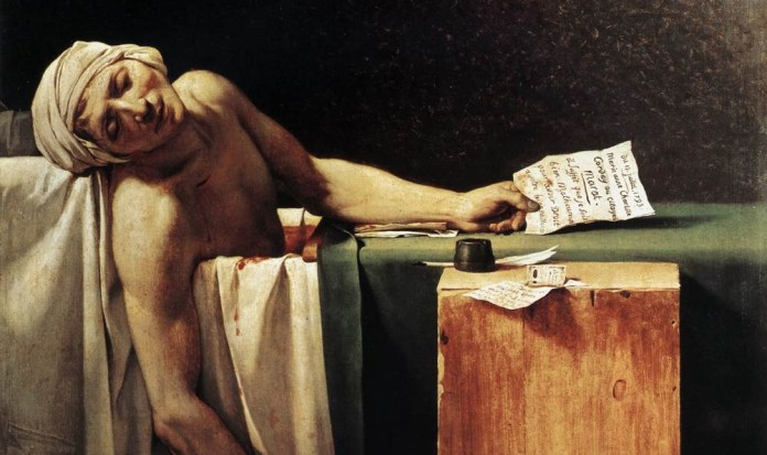 Capa - Death_of_Marat_by_David