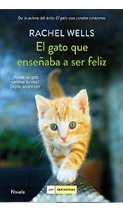 revistas literarias. el gato que enseñaba a ser feliz de rachel wells