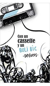 revistas literarias. con un cassette y un boli bic