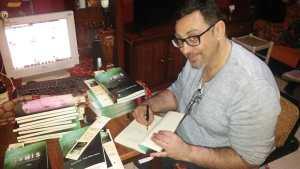 entrevista a xerach garcia y sergio salazar en la Revista literaria Galeradas
