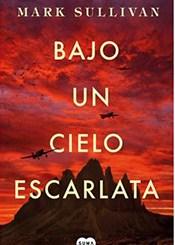 foto portada libro bajo un cielo escarlata en la revista literaria galeradas