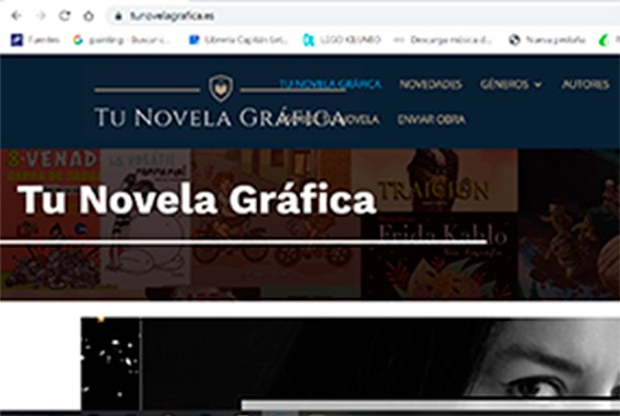 Revista Literaria Galeradas. Tunovelagráfica