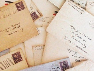 Revista literaria Galeradas. Cartas antiguas