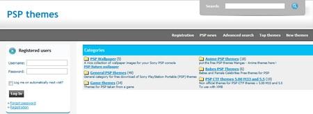 Temas para PSP gratis