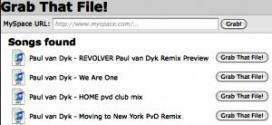 Descargar musica de MySpace