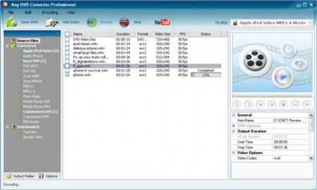 Convertir videos a multiples formatos
