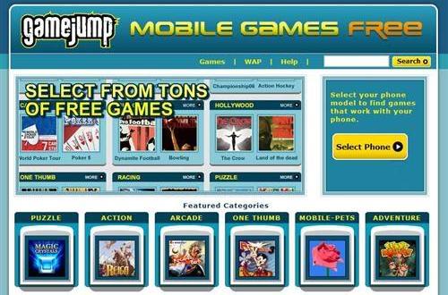 Descargar juegos para celular en GameJump