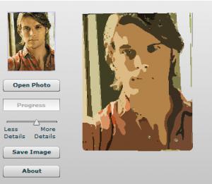 Convertir imagenes a pinturas con Photo to cartoon Online