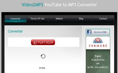 Youtube a MP3 con Video2MP3