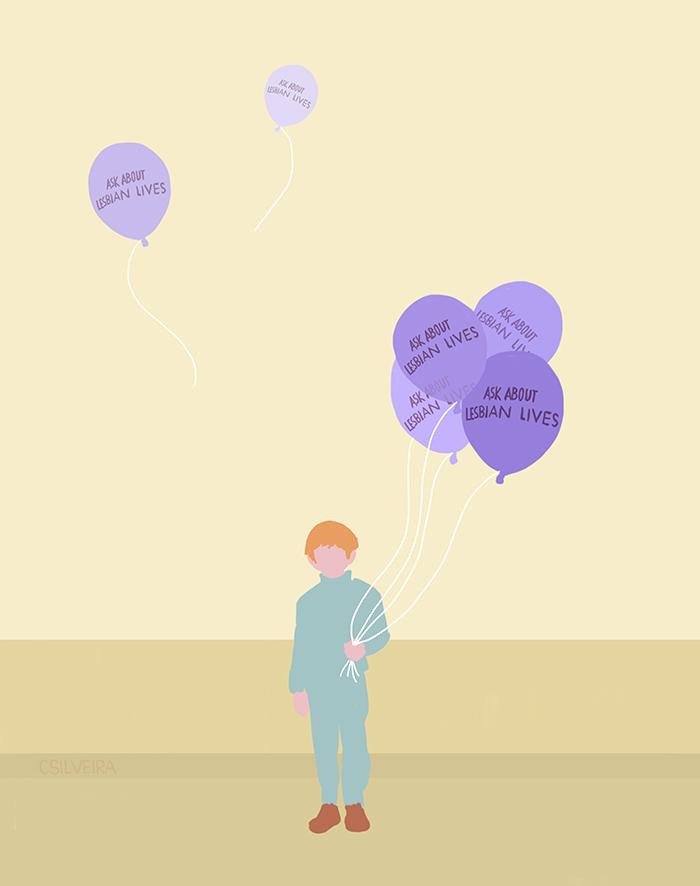 lavanda balon lesbian avengers cecilia silveira