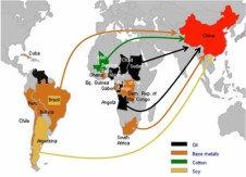 A Nova Rota da Seda e a América do Sul. Crédito: EMA of London.