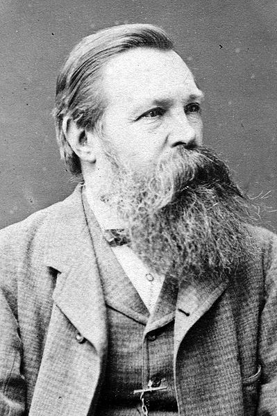 O filósofo comunista Friedrich Engels. Crédito: wikipedia.