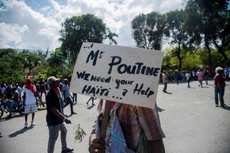 Protestos Haiti 2019. Crédito: Jean Marc Herve Abelard EFE/El País.